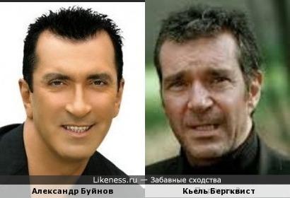 Александр Буйнов и Кьель Бергквист
