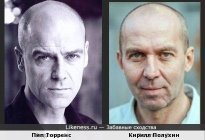 Пип Торренс и Кирилл Полухин