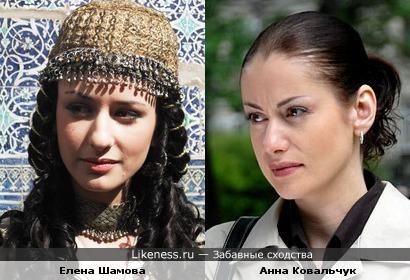 На этой фотографии Шамова немного напоминает Ковальчук