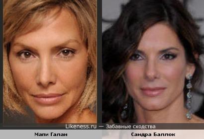 Испанская актриса похожа на Сандру Баллок