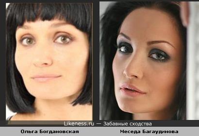 """Ольга Богдановская некоторыми чертами лица напоминает экс-солистку """"ВиаГра"""""""