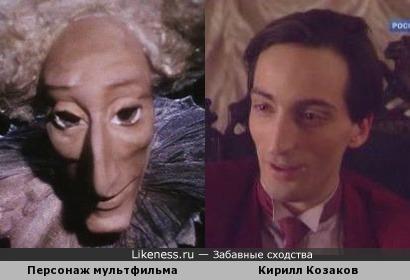 "Персонаж мультфильма ""Балаган"" напомнил Кирилла Козакова"