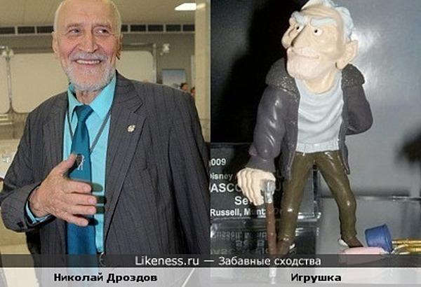 """Игрушка-персонаж мультфильма """"Вверх"""" напоминает Николая Дроздова"""
