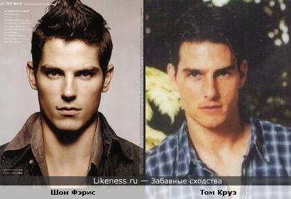 Шон Фэрис похож на Тома Круза