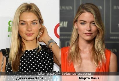 Модели Victoria's Secret как двойняшки