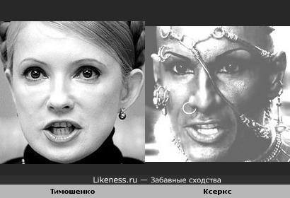 Взгляд Тимошенко похож на взгляд Ксеркса