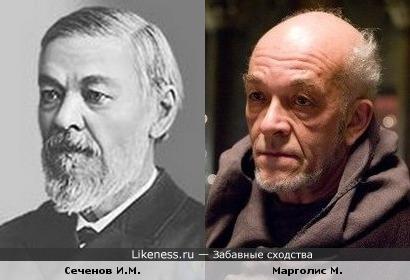 Сеченов Иван Михайлович похож на Марка Марголиса