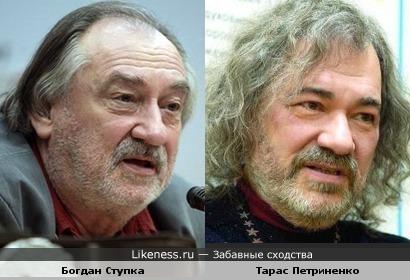 Украинский актер и украинский певец: выглядят как отец и сын