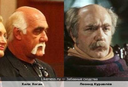 Халк Хоган похож на Леонида Куравлёва