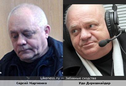 Капитан яхты Сергей Марченко и Удо Диркшнайдер