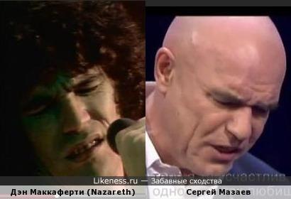 Дэн Маккаферти (Nazareth) и Сергей Мазаев