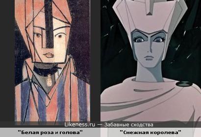 """Увидев картину Матисса,почему то вспомнила """"Снежную королеву"""".."""