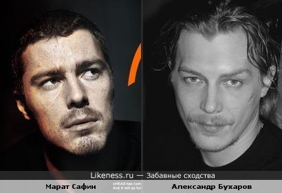 Сафин и Бухаров .