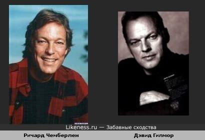 Ричард Чемберлен и Дэвид Гилмор.