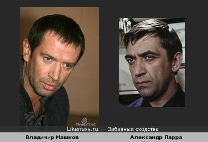 Эти актеры похожи..
