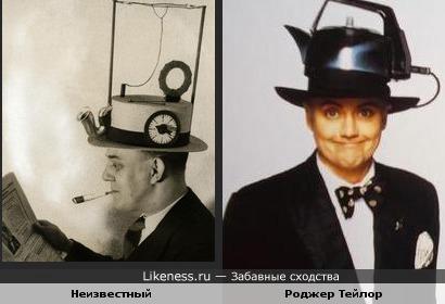 """Фото """"Ретро-шляпа""""напомнило кадр из клипа группы Queen."""