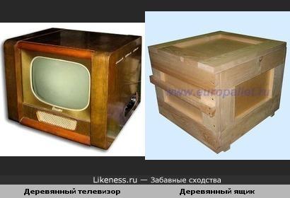 Может быть поэтому телевизор называют ящиком?