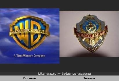 Логотип кинокомпании напоминает значки советских времен