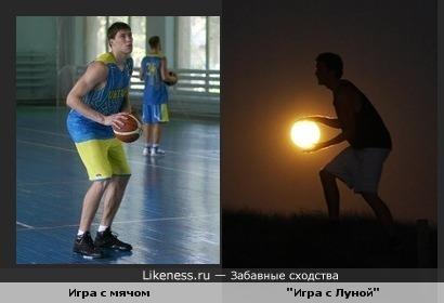 Баскетбол днем и ночью