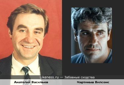 "Анатолий Васильев(""Экипаж"") и Мартиньш Вилсонс(""Мираж"") очень похожи"
