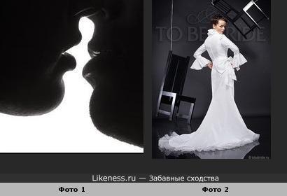 Фото автора Michael G. Magin напомнило свдебное платье со шлейфом.