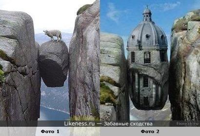 """""""Лучше гор могут быть только...необычные скалы"""" и необычные здания"""