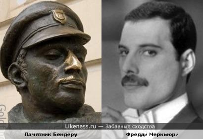 Памятник Остапу Бендеру и Фредди Меркьюри