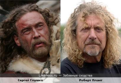 Сергей Глушко в роли князя Изяслава и Роберт Плант