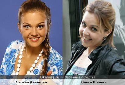 Марина Девятова и Ольга Шелест