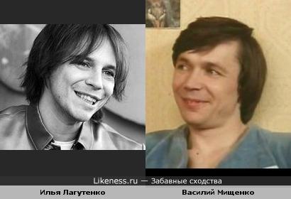 Василий Мищенко на этом фото напомнил Илью Лагутенко