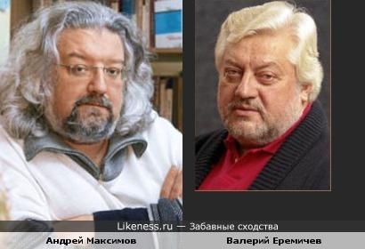 Андрей Максимов и Валерий Еремичев