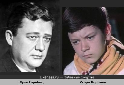 Юрий Горобец и Игорь Королёв