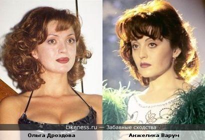 Ольга Дроздова и Анжелика Варум