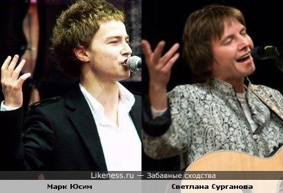Марк Юсим и Светлана Сурганова