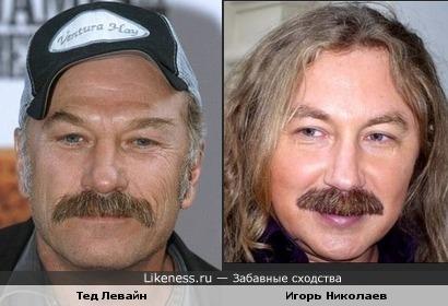 Тед Левайн и Игорь Николаев