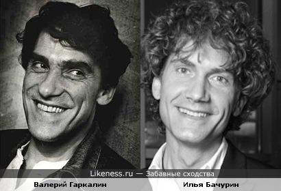 Валерий Гаркалин и Илья Бачурин