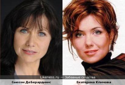Сьюзэн ДеБерардинис и Екатерина Климова