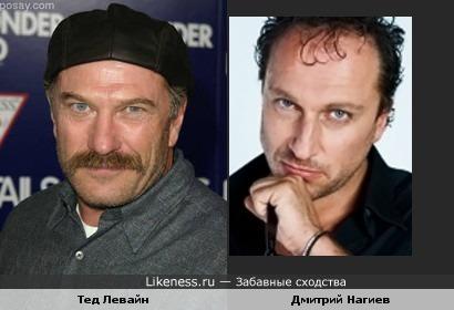 Тед Левайн и Дмитрий Нагиев