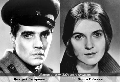Актёры Дмитрий Писаренко и Ольга Гобзева