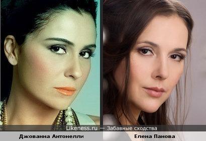 Джованна Антонелли и Елена Панова