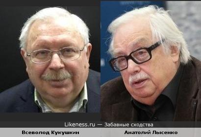 Журналисты Всеволод Кукушкин и Анатолий Лысенко
