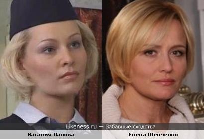 Наталья Панова и Елена Шевченко