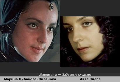 Марина Либакова- Ливанова и Илзе Лиепа
