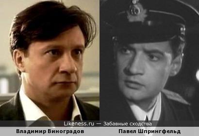 Владимир Виноградов и Павел Шпрингфельд