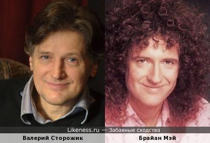 Валерий Сторожик и Брайан Мэй