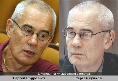 Сергей Бодров-старший и Сергей Кучков