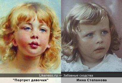 "Девочка на портрете Константина Маковского похожа на капризного ребёнка из фильма ""Про Красную шапочку"""