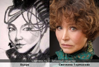 Бьорк и Светлана Тормахова