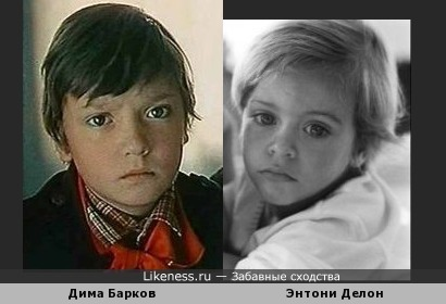 Сходство Баркова и Делона (обыкновенное и невероятное)