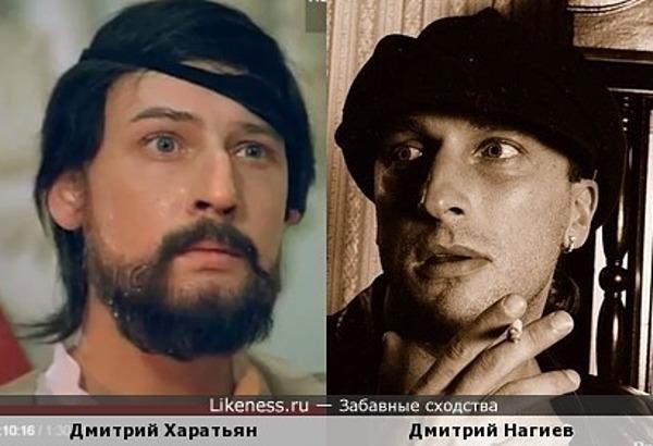 Дмитрий Харатьян в образе Шейха похож на Дмитрия Нагиева